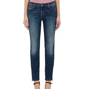 J Brand Mid Rise Cigarette Jeans Swift 28 x 29L